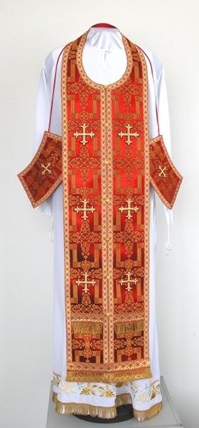 Clergy vestments: Epitrakhilion set S2