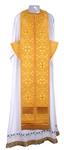Epitrakhilion set - metallic brocade B (yellow-gold)