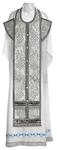 Epitrakhilion set - metallic brocade BG3 (black-silver)
