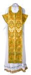 Epitrakhilion set - rayon brocade S2 (yellow-gold)