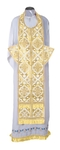 Epitrakhilion set - rayon brocade S2 (white-gold)