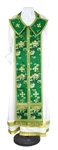 Epitrakhilion set - rayon Chinese brocade (green-gold)