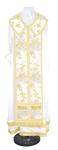 Epitrakhilion set - rayon Chinese brocade (white-gold)