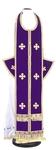 Epitrakhilion set - natural German velvet (violet-gold)