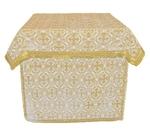 Holy Table vestments - brocade BG1 (white-gold)