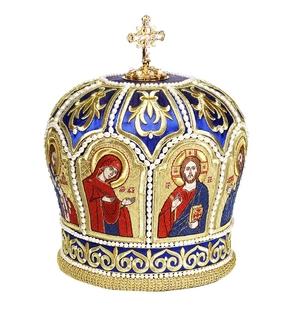 Embroidered Bishop mitre - 42