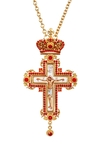Pectoral chest cross no.74