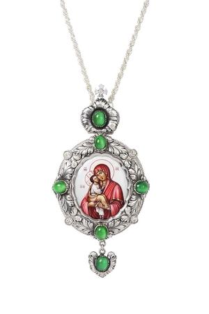 Bishop encolpion panagia no.128
