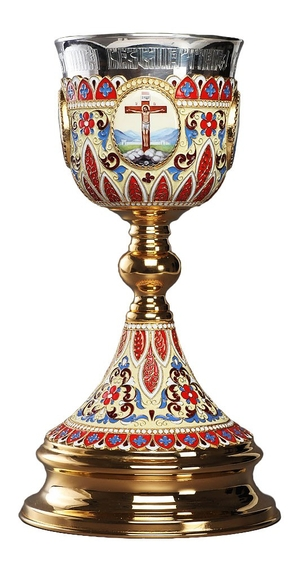Jewelry communion chalice (cup) - 66 (1.0 L)