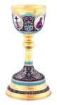 Jewelry communion chalice (cup) - 72 (1.0 L)