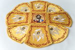 Chalice covers, Gold Yellow, with icons