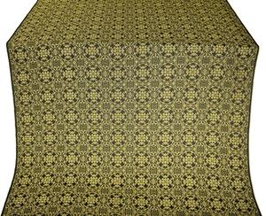 Dormition metallic brocade (black/gold)