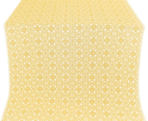 Dormition metallic brocade (white/gold)