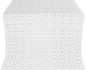 Dormition metallic brocade (white/silver)