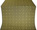 Dormition silk (rayon brocade) (black/gold)