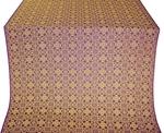 Dormition silk (rayon brocade) (violet/gold)