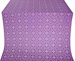 Dormition silk (rayon brocade) (violet/silver)