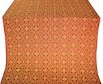 Dormition silk (rayon brocade) (red/gold)