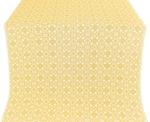 Dormition silk (rayon brocade) (white/gold)