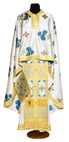 Greek Priest vestments - Economy Greek Rose blue