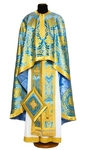 Greek Priest vestments - Patras blue