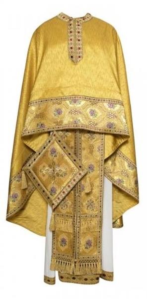 Greek Priest vestments - Economy 189 yellow/gold