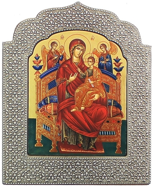 Icon: The Most Holy Theotokos the Queen of All - 15