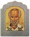 Icon: St. Nicholas the Wonderworker - 26
