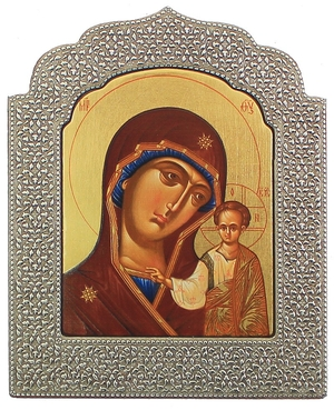 Icon: The Most Holy Theotokos of Kazan' - 16