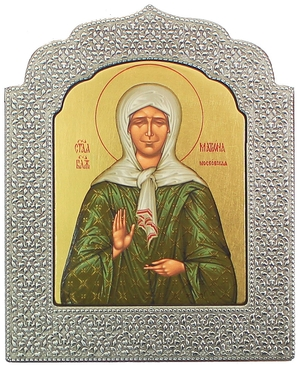Icon: Blessed Matrona of Moscow - 12