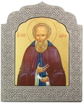 Icon: Holy Venerable Sergius of Radonezh the Wonderworker - 8