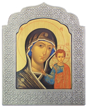 Icon: The Most Holy Theotokos of Kazan' - 17