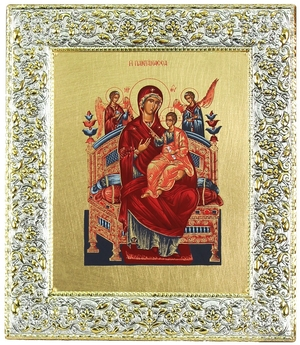 Icon: The Most Holy Theotokos the Queen of All - 14