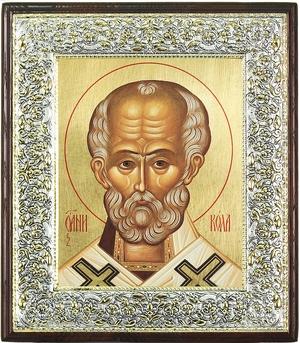 Icon: St. Nicholas the Wonderworker - 33