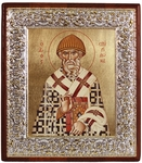 Icon: Holy Hierarch Spyridon of Tremethius - 5