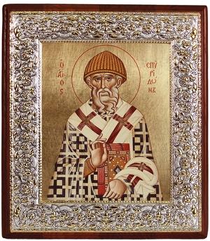 Icon: Holy Hierarch Spyridon of Tremethius - 5
