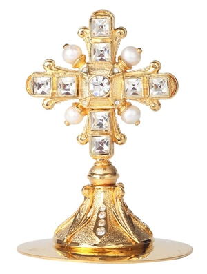 Mitre cross no.14 (gold)