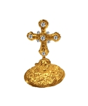 Mitre cross no.6 (gold)