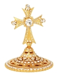 Mitre cross no.12 (gold)