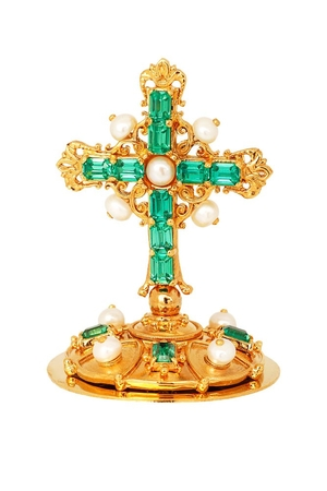 Mitre cross no.19 (gold)