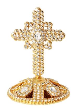 Mitre cross no.23 (gold)