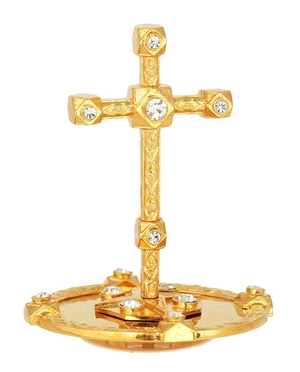 Mitre cross - 10 (gold)