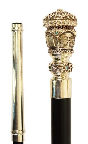 Jewelry Bishop crosier - 15a