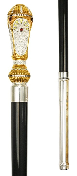 Jewelry Bishop crosier - 10