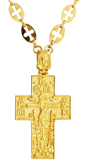 Pectoral office cross - A88