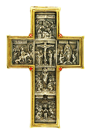 Pectoral cross - A184 (without chain)