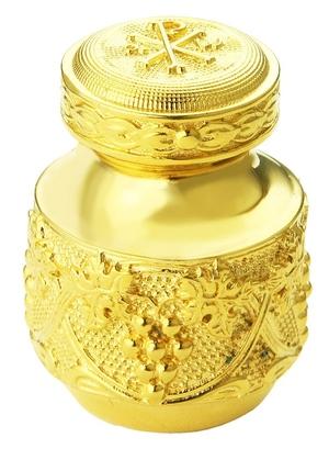 Jewelry oil vessel