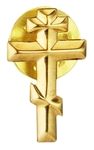 Greek baptism pin Cross - 2