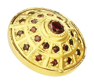 Jewelry vestment button - 3