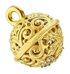 Jewelry vestment button - 8